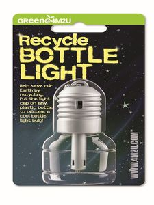 Flaschenlicht - Recycle Bottle Light - Green Science