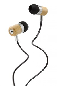 Vers 7E Earphones Bamboo - Kopfhrer aus Bambus - mit Basssystem - Vers