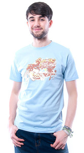 Summer Feelings T-Shirt blau - 108 Degrees