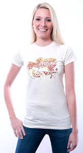 Summer Feelings T-Shirt ecru - 108 Degrees