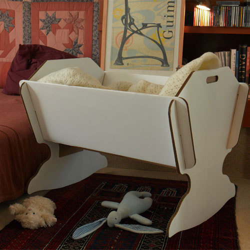 Eco Cradle - Kinderwiege aus Recycling-Karton - Green Lullaby