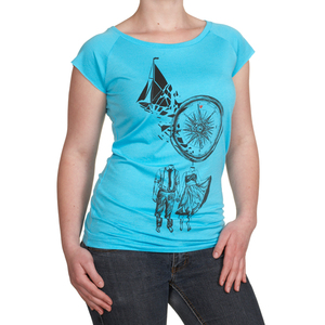 Damenshirt Bamboo Compass - Re-Bello