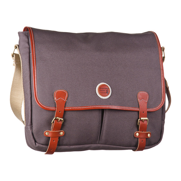 Messenger Bag - Graue Tasche - Knowledge Cotton Apparel