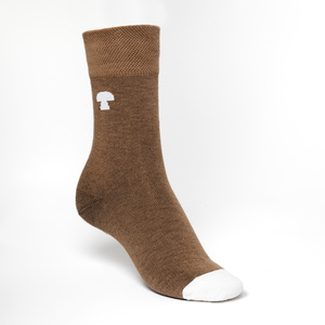 Summit Socken white/brown - THOKKTHOKK