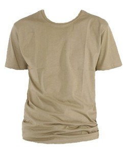 T-Shirt men, sand - ETHOS