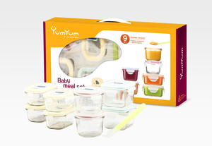 Glasslock Baby Meal Set - Glasslock