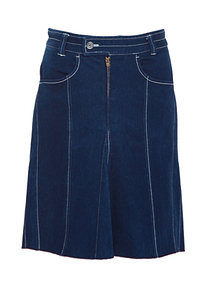 Jeansrock, navy - refreshed