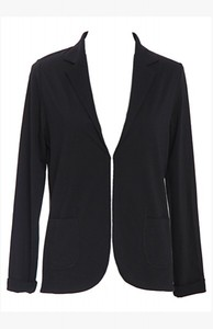 Easy Blazer, schwarz - Mandala