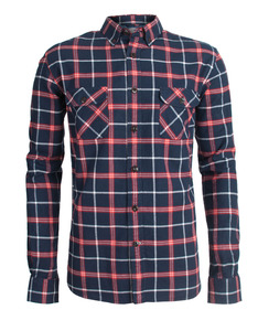Brushed Plannel Yarndyed Check Shirt - KnowledgeCotton Apparel