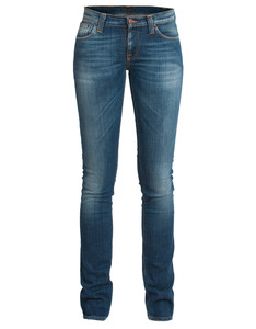 Tight Long John Org. Clean Neps - Nudie Jeans