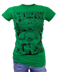 Girlie 'Jungle Ede', T-Shirt aus Biobaumwolle - Coaster Roller
