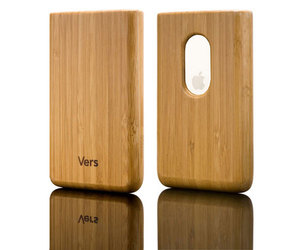 iPod touch Slipcase aus Holz - Vers