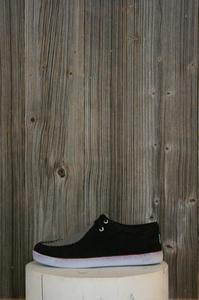 The Solis Black Suede Schuhe - Keep