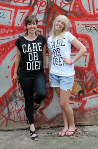 CARE OR DIE Frauen T-Shirt - Avocado Store