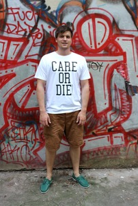 CARE OR DIE T-Shirt - Avocado Store