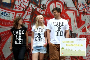 CARE OR DIE T-Shirt + 50 EUR Gutschein - Avocado Store