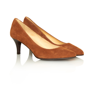 Eleganter Pumps whisky - John W. Shoes
