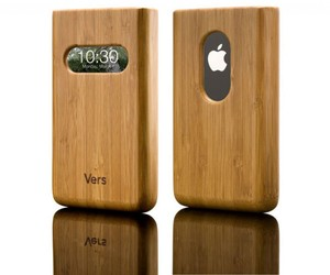 Infocase fr iPhone 3/3GS - Schutzhlle aus Holz in verschiedenen Farben - Vers