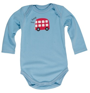 Langarm-Body Bus - Frugi