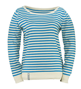 ladies striped sweater - bleed