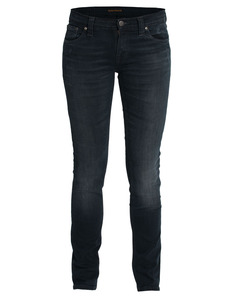 Tight Long John Org. Black and Grey - Nudie Jeans