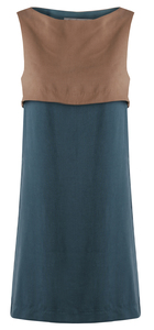 Swan Shift Dress Tencel - Komodo