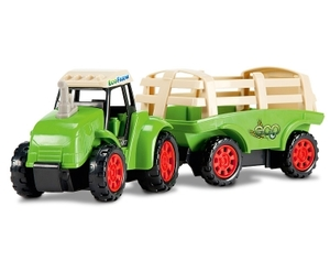 Dickie Toys Eco Farm - Farm Tractor - Heuanhnger - Dickie Toys