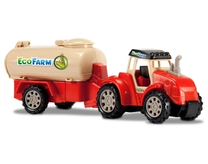 Dickie Toys Eco Farm - Farm Tractor -  befllbarem Tank - Dickie Toys