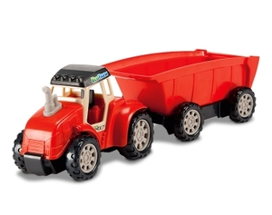 Dickie Toys Eco Farm - Farm Tractor -   Kippanhnger - Dickie Toys