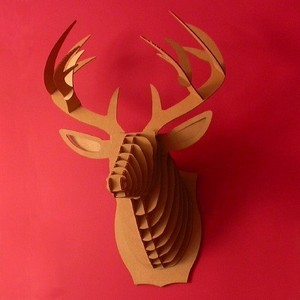 Bucky -  deer trophy - Cardboard Safari