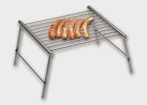 Edelstahl Klappgrill - werkstatt-design