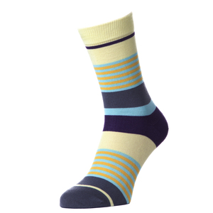 Eco Fashion Socken - LAYER CAKE - Yellow Grape - MINGA BERLIN