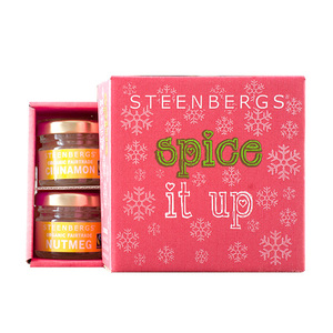 Bio-Fairtrade Gewürzbox 'Spice it up' - mini - Steenbergs - Steenbergs
