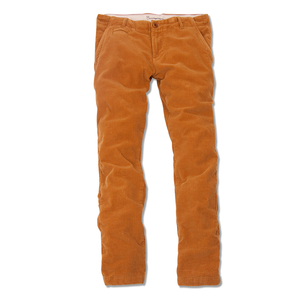 Cordhose Buckthorn Braun - KnowledgeCotton Apparel