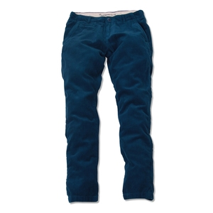 Cordhose Dunkelblau organic cotton - KnowledgeCotton Apparel