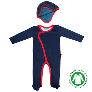 Baby-Outfit 'danish darkblue' - Froy and Dind