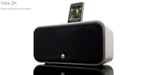 Vers 2x iPod/iPhone Dockingstation aus Holz - Vers