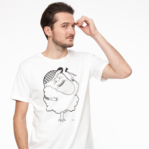 Grønsag Woodsman T-Shirt black/white - Grønsag