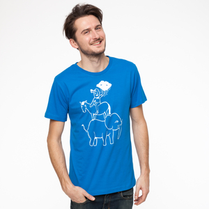 Grønsag Adventure Time T-Shirt white/french blue - Grønsag