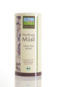 Bio Hanfnuss Müsli kbA - The Hemp Line