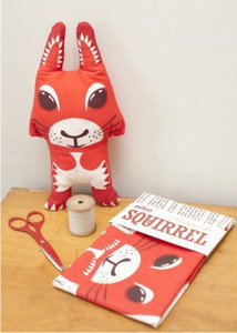 Tea Towel - Squirrel - mibo