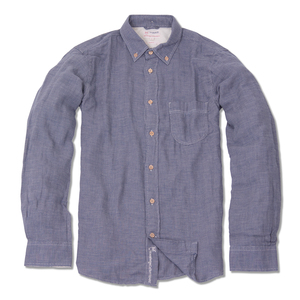 Dogtooth Shirt organic cotton - KnowledgeCotton Apparel