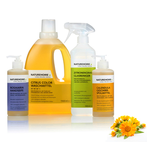 NATUREHOME Bio-Reinigungsmittel Einsteiger-Set - NATUREHOME