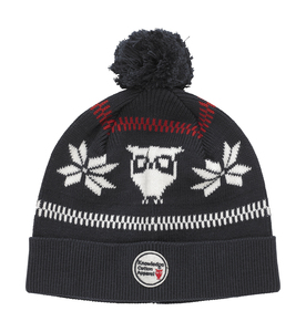 Elastic Rib Knit Hat - Knowledge Cotton Apparel