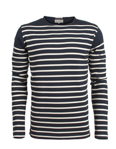 Striped Sweatshirt - KnowledgeCotton Apparel