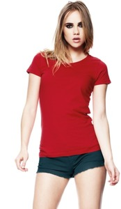 3er Pack Women's Organic Vintage Washed T-Shirt  - Continental Clothing