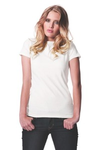 3er Pack Women's Organic Slim Fit T-Shirt  - Continental Clothing