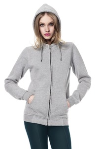 Women's Zip-Up Hoody  - Continental Clothing