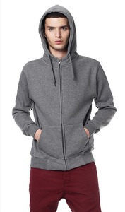 Men's Zip-Up Hoody - Continental Clothing