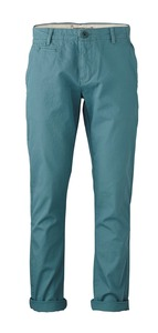 Twisted Twill Chino brittany blue - KnowledgeCotton Apparel